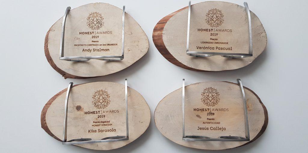 Honest Awards del Honest Summit 2019