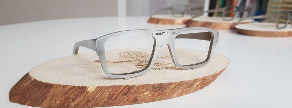 Unión soporte gafas Honest Awards en el Honest Summit 2019