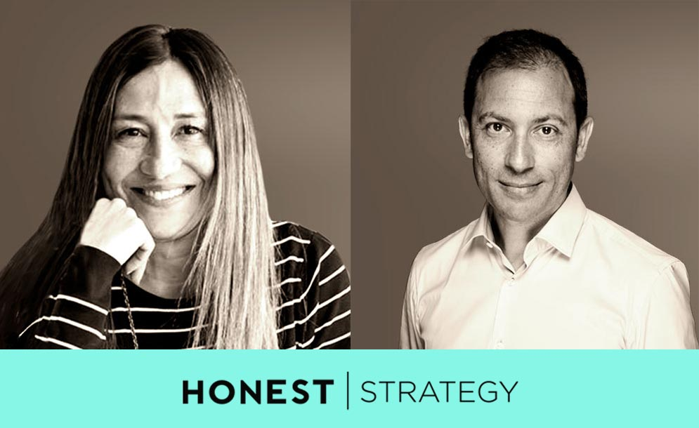 Mamen Perera y Héctor Robles facilitadores Honest Strategy