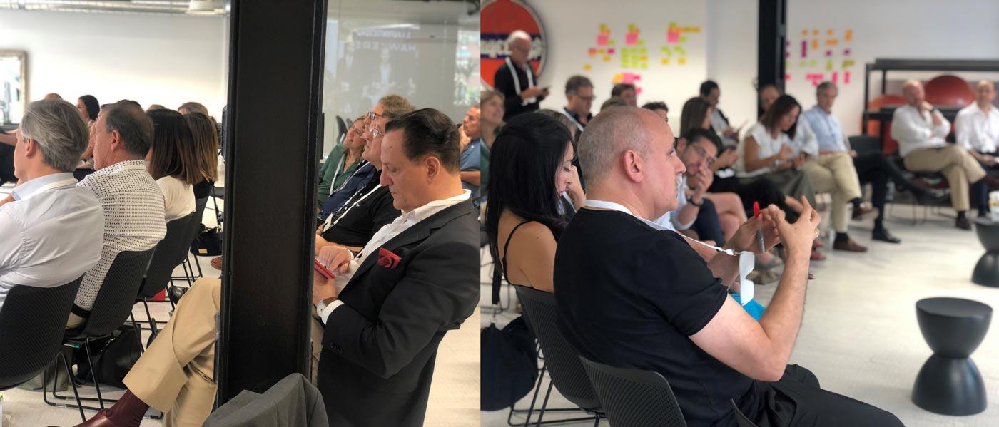 Así fue la sesión sobre transformación cultural de empresas