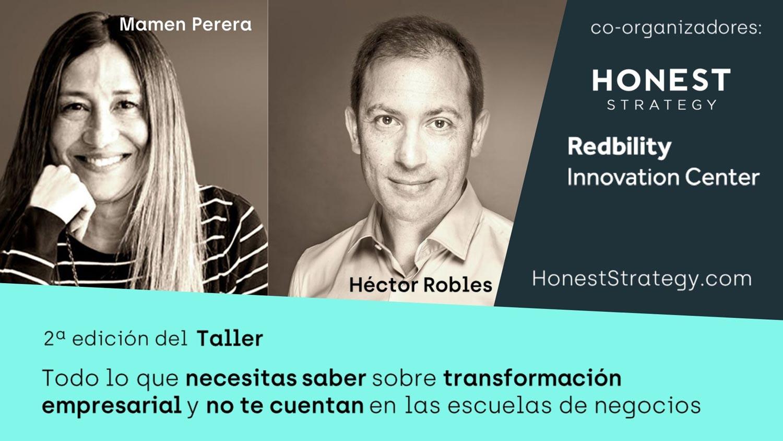 Taller transformación cultural empresas Honest Strategy