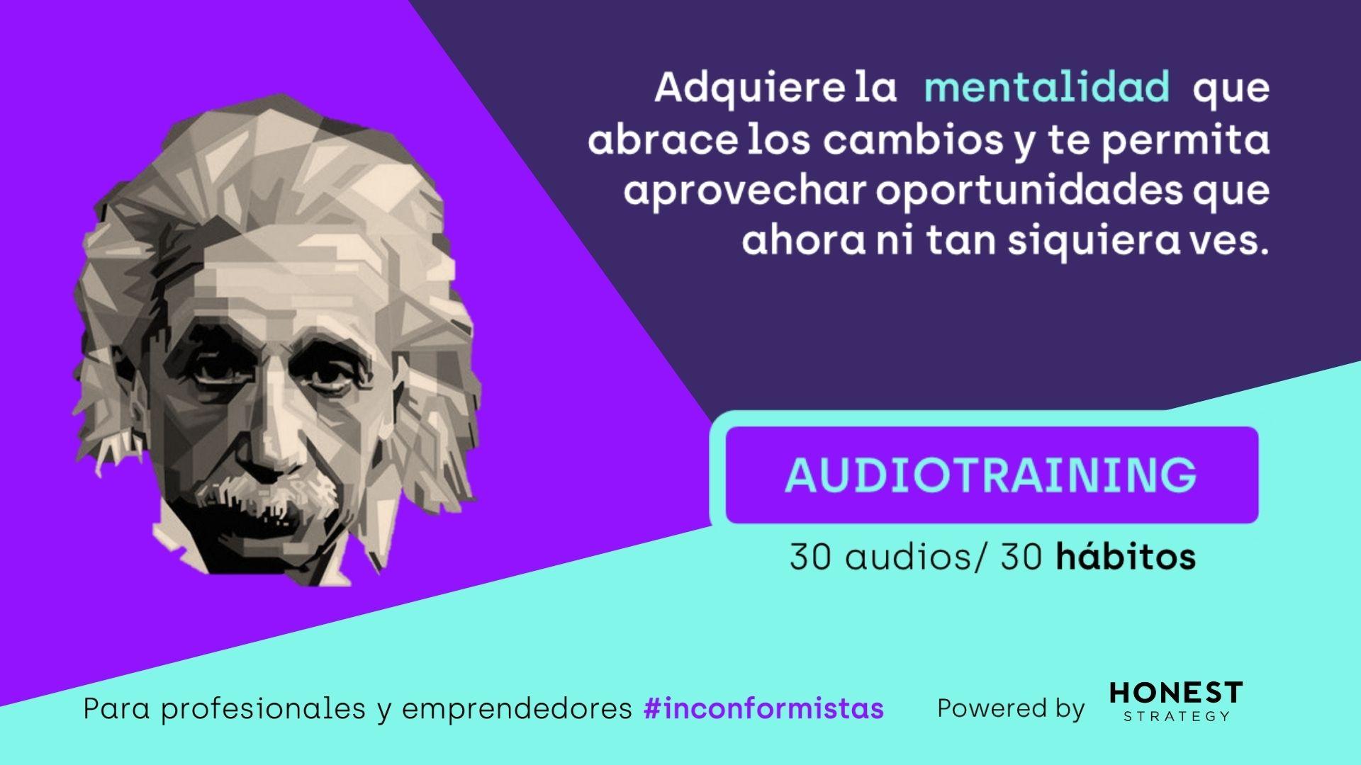 Audiotraining Mentalidad Einstein